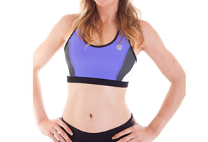 Active Angelz Giselle Racerback Bra Top - Womens