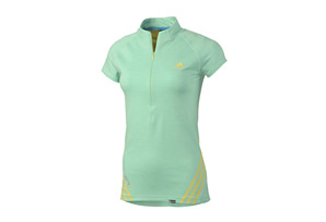 adidas Terrex 1/2 Zip Short Sleeve - Womens
