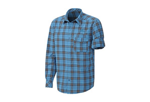 Adidas Hiking Check Long Sleeve Shirt - Mens