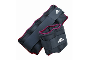 Adidas Ankle/Wrist Adjustable Weights - 10 lbs