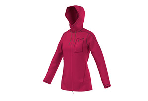 Adidas Edo Teddy Fleece Jacket - Womens
