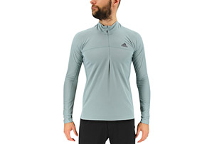 adidas 37.5 1/2 Zip Long Sleeve - Men's