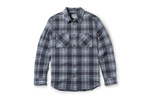 Altamont Binary L/S Flannel Shirt - Mens