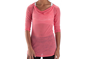 Anue Chai 3/4 Sleeve Top - Womens