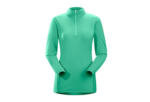 Arc'teryx Phase AR Zip Neck LS - Womens