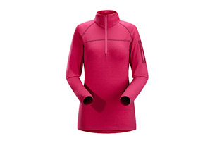 Arc'teryx Rho LTW Zip Neck - Womens