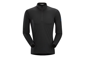 Arc'teryx Phase SL Zip Neck Long Sleeve - Mens