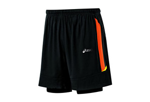 ASICS Fuji 2-N-1 Short - Mens