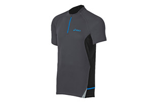 ASICS Fuji Short Sleeve 1/2 Zip - Mens