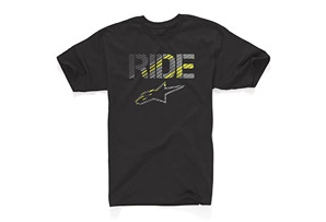 Alpine Stars Cross Hatch Tee - Mens