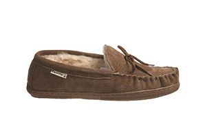 Bearpaw Moc Slippers- Mens