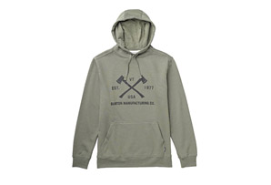 Burton Chopper Recycled Pullover Hoodie - Mens