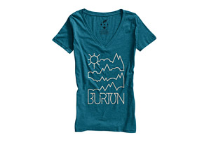 Burton Rise and Shine Recycled V neck - Womens