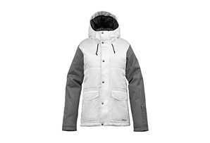 Burton The White Collection Snuggle Muffin Jacket - Womens