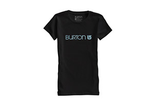 Burton Her Logo Short Sleeve T-Shirt - Womens