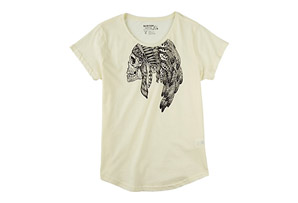 Burton Headress Oversized Tee - Womens