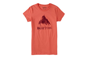 Burton Stamped Mountain Tee - Women's