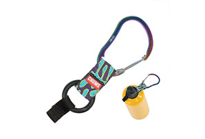 Chums Steel Clip Bottle Holder