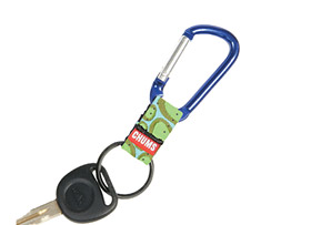 Chums Small Carabiner Keychain