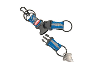 Chums Triple Play Detachable Keychain