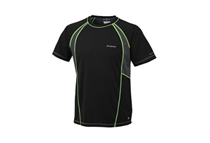 Columbia Insight Mesh Short Sleeve Crew - Mens