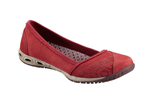 Columbia Sunvent  Ballet Leather Shoe - Womens