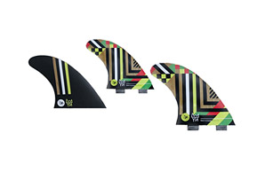 Creatures of Leisure Nat Young Vert Large Fin Set - FCS