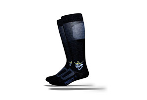 DeFeet Orbit Ski Gold Crown Socks
