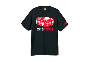 Enjoi Eat Meat Premium Tee - Mens