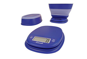 Escali Pop Collapsible Kitchen Bowl Scale