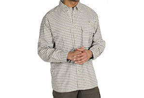 ExOfficio Air Strip Micro Plaid L/S Shirt-Mens