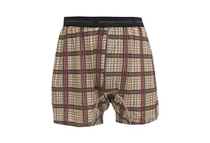 ExOfficio Give-N-Go® Plaid Boxer - Mens