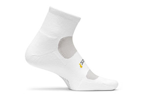 Feetures! High Performance Lt. Cushion Quarter Socks