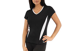 Fila V-Neck Top - Womens