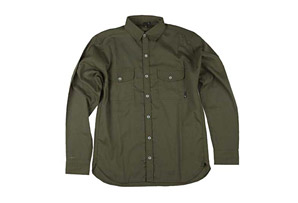 Fallen Emery Button Up Long Sleeve Shirt - Mens