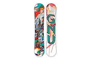 GNU Girl Gateway PBTX Snowboard 2015 - Womens