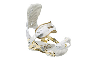 GNU B-Free Gold Edition Snowboard Bindings 2015 - Womens