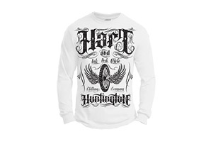 Hart and Huntington Hell on Wheels L/S - Mens