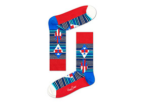 Happy Socks Inca Stripe Socks - Unisex