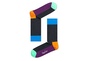 Happy Socks Five Color Socks - Unisex