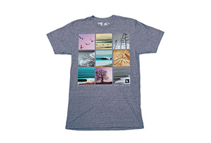 Hippy Tree Frame Tee - Mens