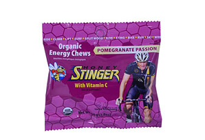 Honey Stinger Pomegranate Passion Fruit Chews Box of 12