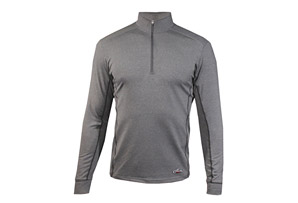 Hot Chillys Micro-Elite Chamois Panel Zip-T - Mens