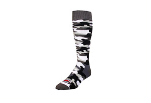 Hot Chillys Camo Med Cushion Socks - Mens