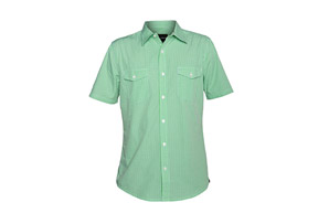 Hurley Solution S/S Woven - Mens