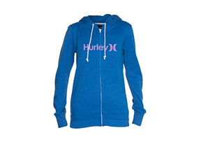 Hurley One & Only Slim Zip Hoodie - Wmns