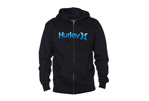 Hurley One & Only Gradient Zip Fleece - Mens