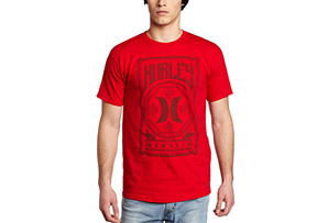 Hurley Against SS Tee - Mens