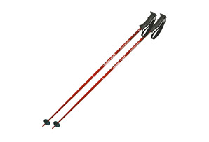 Komperdell Deep Red Alpine Ski Poles