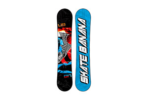 Lib Tech Skate Banana Fundamental Snowboard 2013/2014 - 159cm Wide